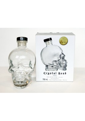 Vodka Crystal head cl. 70