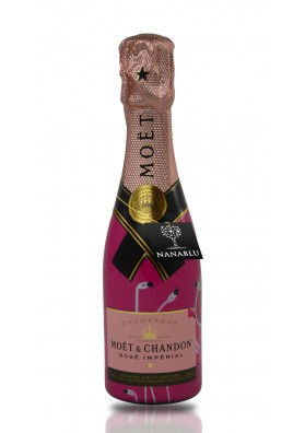 Champagne Moët Rosé Mini Daring cl. 20 Limited Edition San Valentino