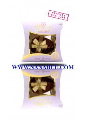 Uovo di Pasqua Noccior Lindt Bigusto cioccolato latte e fondente gr. 610